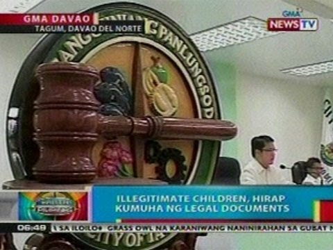 BP: Illegitimate children sa Davao   del Norte, hirap kumuha ng legal   documents