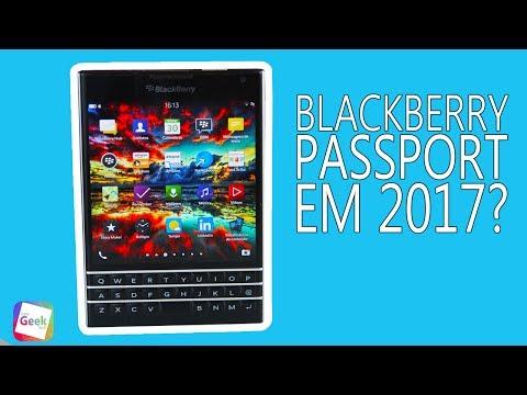 Blackberry Passport em 2017? Vale a pena investir?