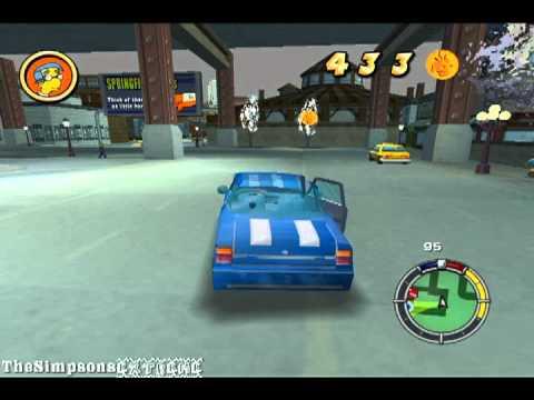 The Simpsons Hit Amp Run Sportcar YouTube