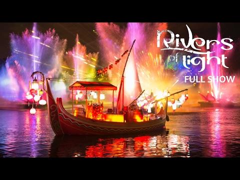 Rivers of Light Full Opening Night Show at Disney's Animal Kingdom Theme Park! (Walt Disney World)
