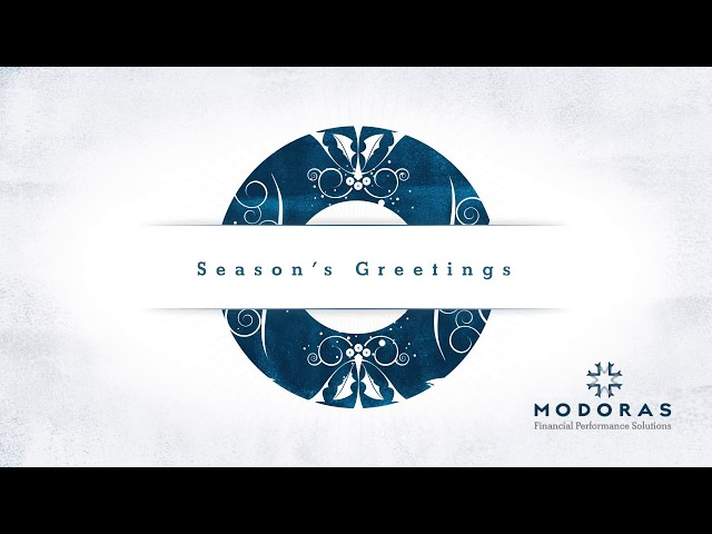 Modoras Digital Christmas Card 2018