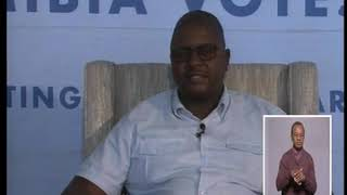 ONDANGWA VOTES | NBC TV News interview with ECN's chief electoral and referenda officer Theo Mujoro