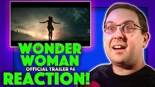 REACTION! Wonder Woman Trailer #4 - EPIC Final Trailer - Gal Gadot Movie 2017