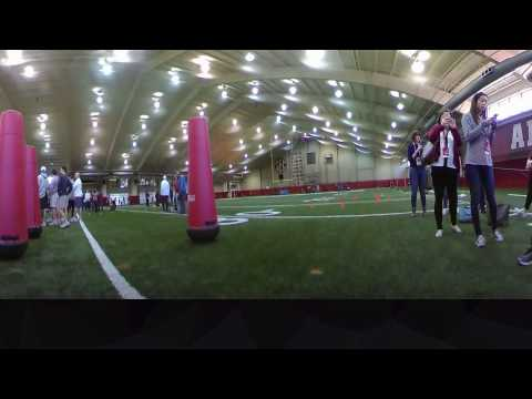 Alabama Pro Day, Presented by BBVA Compass: 360 Video with Barrett Jones