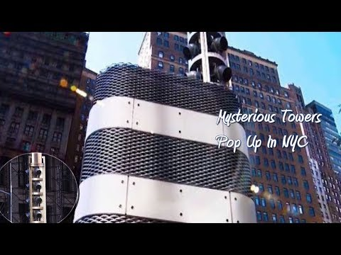 Mysterious Towers Pop Up In NYC ✔️