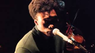 """Benjamin Clementine. Le Trianon 20/03/2015 """"Then i heard a bachelor's cry"""""""