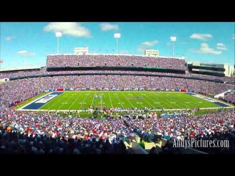 HD Time Lapse: Ralph Wilson Stadium - Buffalo Bills (2 views)