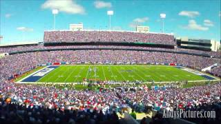 HD Time Lapse: Ralph Wilson Stadium - Buffalo Bills (2 views)