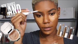 WE BEEN WAITING ON THIS NEW FENTY BEAUTY CONCEALER & SETTING POWER