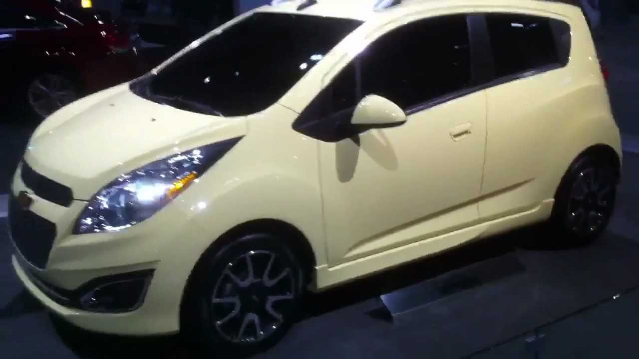 Chevrolet Spark at the St Louis Auto Show with Don Brown Chevrolet