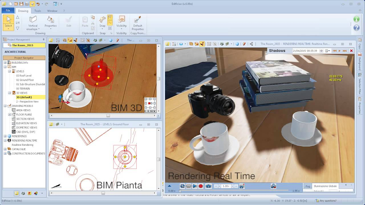 Software rendering 3d per architettura in real time acca for Programmi 3d architettura