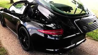 LA SUPERCAR À MOTEUR ATMOSPHÉRIQUE - PORSCHE 911 TARGA 4 GTS (4K)