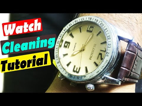 How To Clean & Polish Men Leather Strap Watch