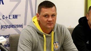 Trener Marcin Truszkowski (Korona Ostrołęka) o meczu z Ząbkovią Ząbki