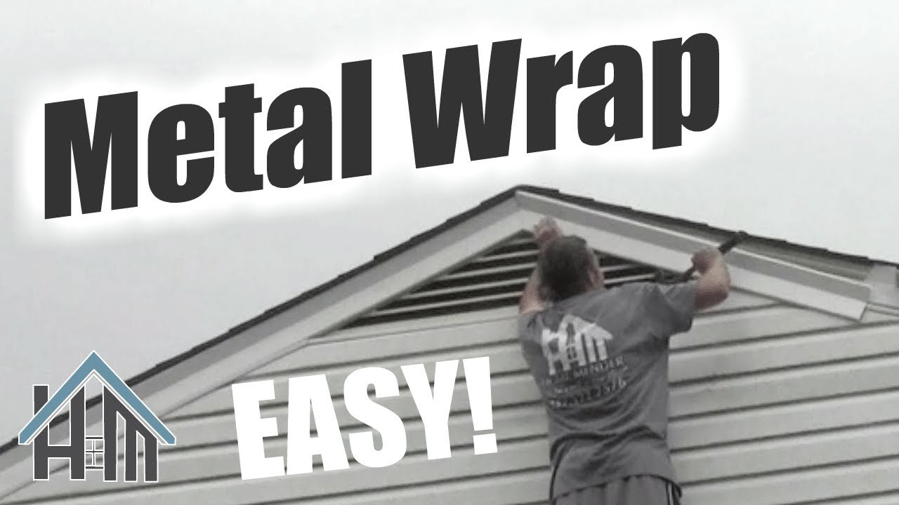 How To Install Replace Metal Wrap Vinyl Wrap Trim Coil