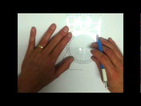 how to draw a regular hexagon in engineering drawing