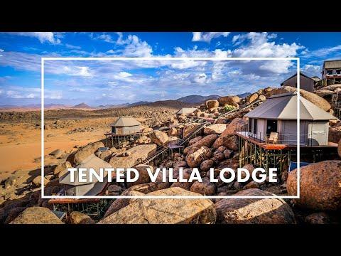 EXTRAORDINARY TENTED VILLA LODGE in the NAMIB DESERT: Zannier Sonop Lodge, Namibia