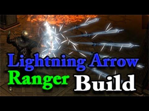 Ranger Lightning Arrow Build Path Of Exile