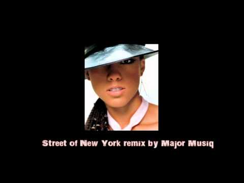 Nas feat Alicia Keys Street of NY remix by Major Musiq