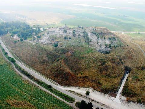 Tel Megiddo Israel - Armageddon - Megiddo - a site of great importance in the ancient world.