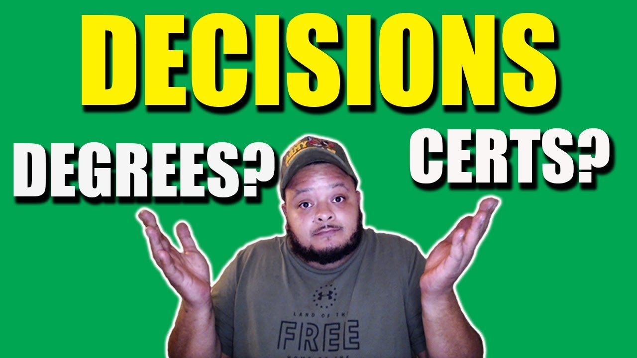 Do You Need to Go to College to Learn I.T.?