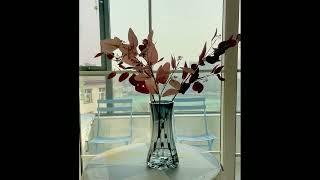 글라스 장식 유리 화병 거실 유니크 예쁜 꽃병 인테리어