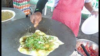 Best Tasty Omlet Wala in Surat | Pintu Bhai Special Omlet | Shraddha Saburi Omlet Centre