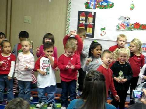 jingle bells preschool christmas program sooooooo funny