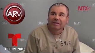 Revelan a Chapo Guzmán negociando con custodio antes de ser extraditado | Al Rojo Vivo | Telemundo