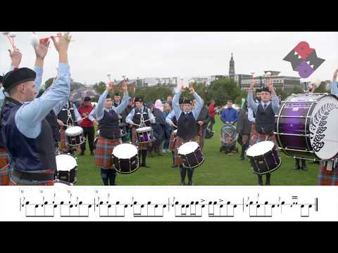 New Zealand Police Pipe Band 2018 Medley