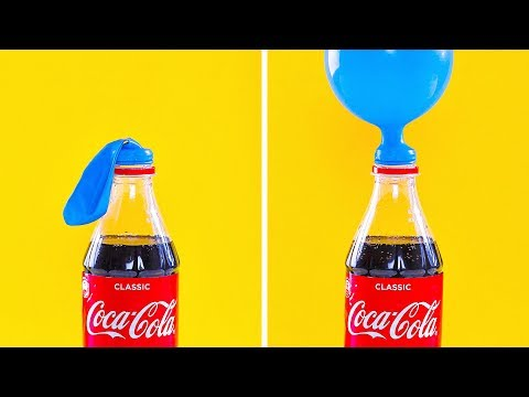 25 MIND-BLOWING TRICKS AND EXPERIMENTS YOU CAN MAKE AT HOME