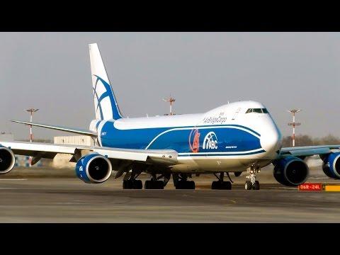 AirBridgeCargo Airlines Boeing 747-8 | Аэропорт Шереметьево