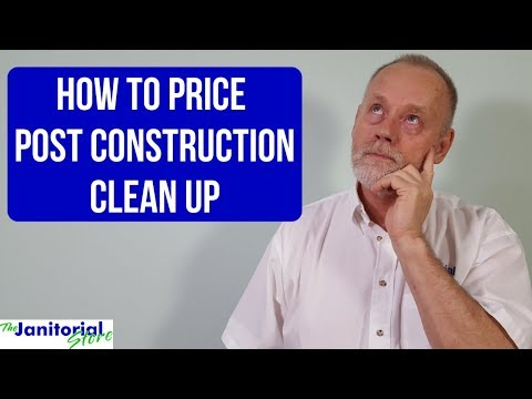 How To Price A Post Construction Cleaning For A Commercial Building