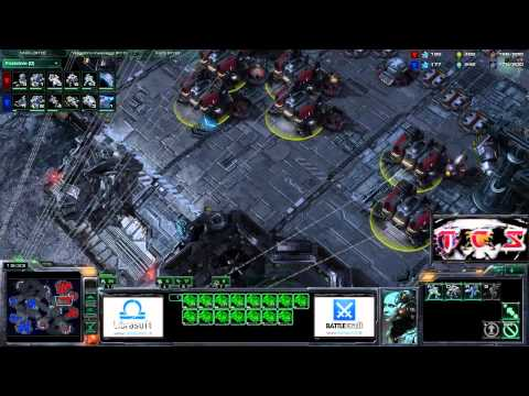 TCS #106: [TvT] PuMa v. SeleCT + [ZvZ] DarKFoRcE v. Ret - StarCraft 2 ita