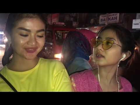 Gina & Ghea Youbi Takbiran Dipasar tradisional