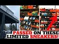 I PASSED ON LIMITED SNEAKERS AT THE NIKE EMPLOYEE STORE!!