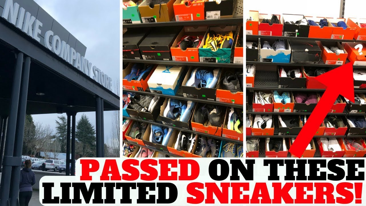 huge selection of 8a664 6582c I PASSED ON LIMITED SNEAKERS AT THE NIKE EMPLOYEE STORE!!