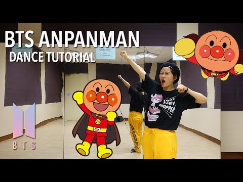 BTS (방탄소년단) ANPANMAN Dance Tutorial | Full W Mirror [Charissahoo]