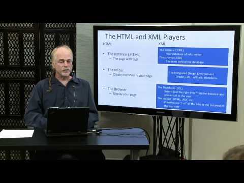 Website Architecture and Design with XML. Presented with O