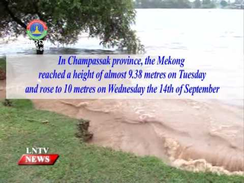 Lao NEWS on LNTV: The weather returns to normal for the time of year.15/9/2016