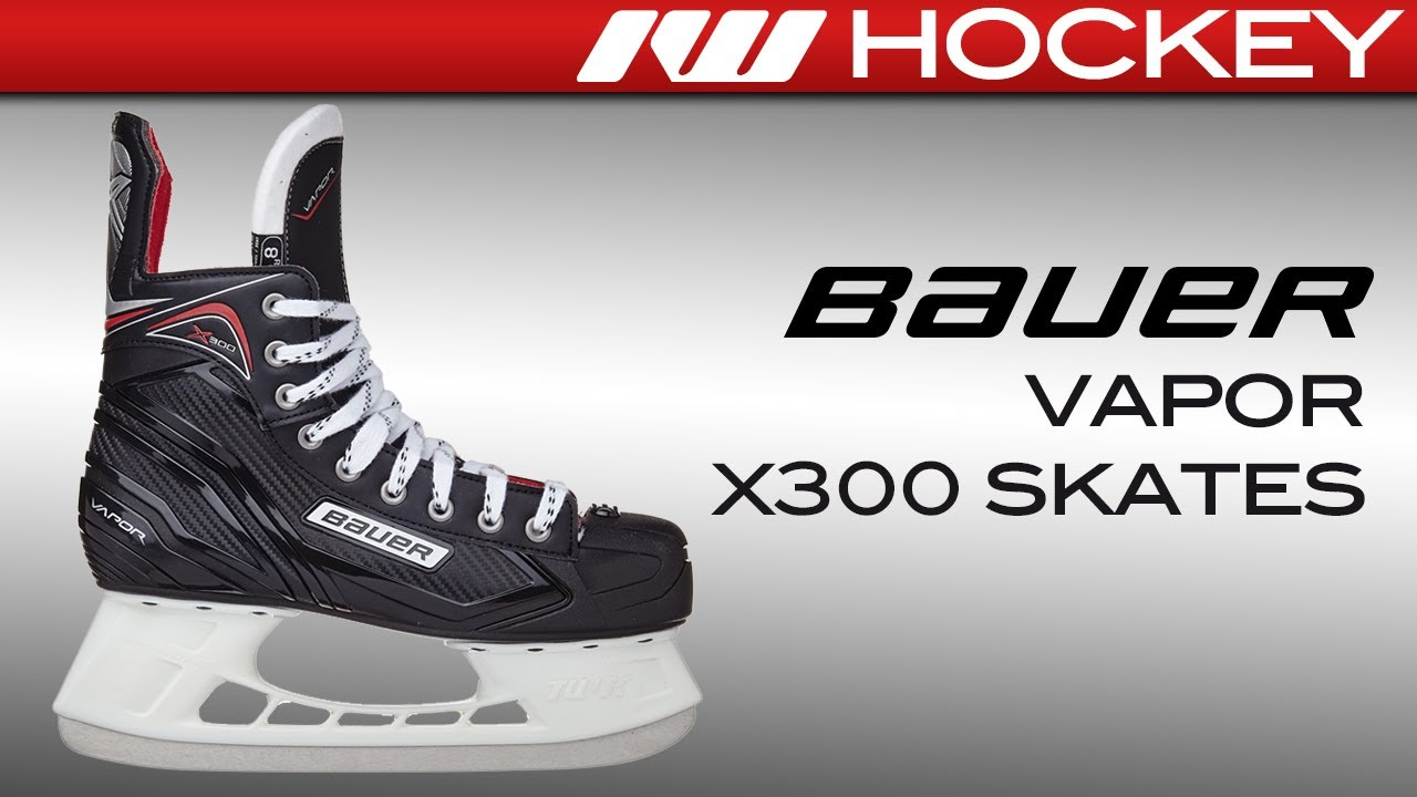 a0551aaf981 2017 Bauer Vapor X300 Skate Review. Ice Warehouse