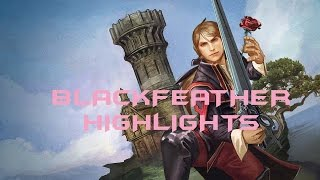 Vainglory Gameplay: NEW HERO BLACKFEATHER HIGHLIGHTS - THE ROSE ASSASSIN W/ FOOJEE - UPDATE 1.11