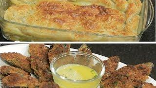 فطيرة الدجاج - بلح البحر بالبسطرمة في الفرن | مطبخ 101 حلقة كاملة
