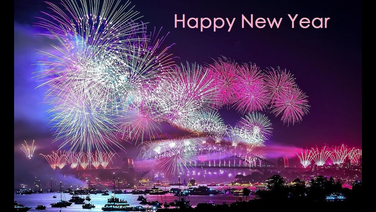 happy new year 2018 fireworks live wallpaper app download