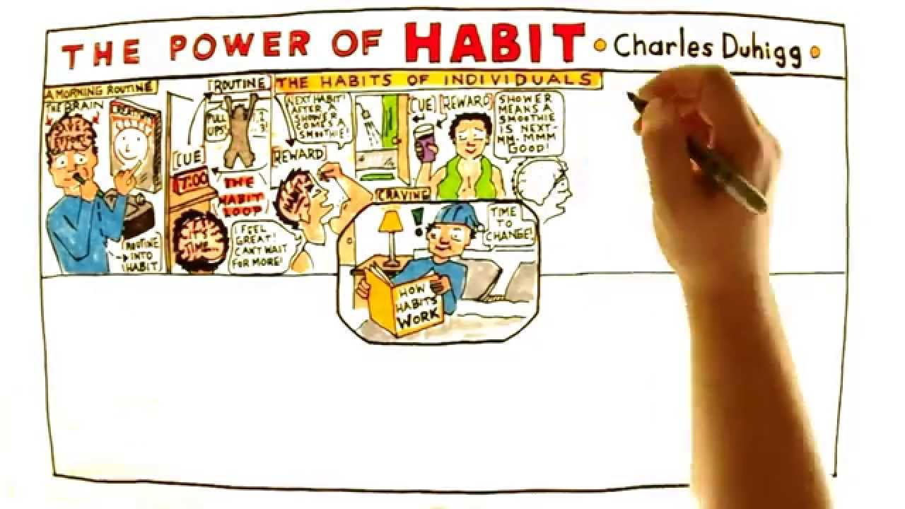 Video Review for The Power of Habit by Charles Duhigg - YouTube