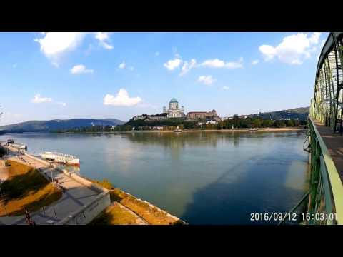 Walking from Sturovo (Slovakia) to Basilica Esztergom (Hungary)