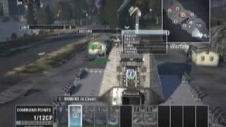 End War 2 vs 2 online gameplay, part 1 of 3 [PS3]