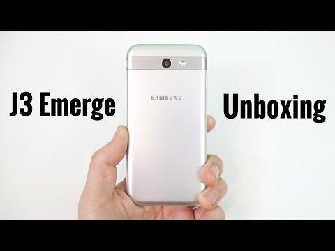 Samsung Galaxy J3 Emerge Unboxing