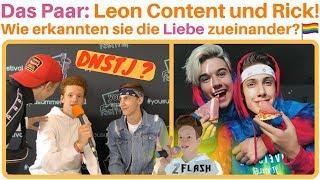 Leon Content: Plötzlich hatten wir Gefühle füreinander! 😍🤔 #loveislove 🏳️🌈 Leon & Rick | 2Flash