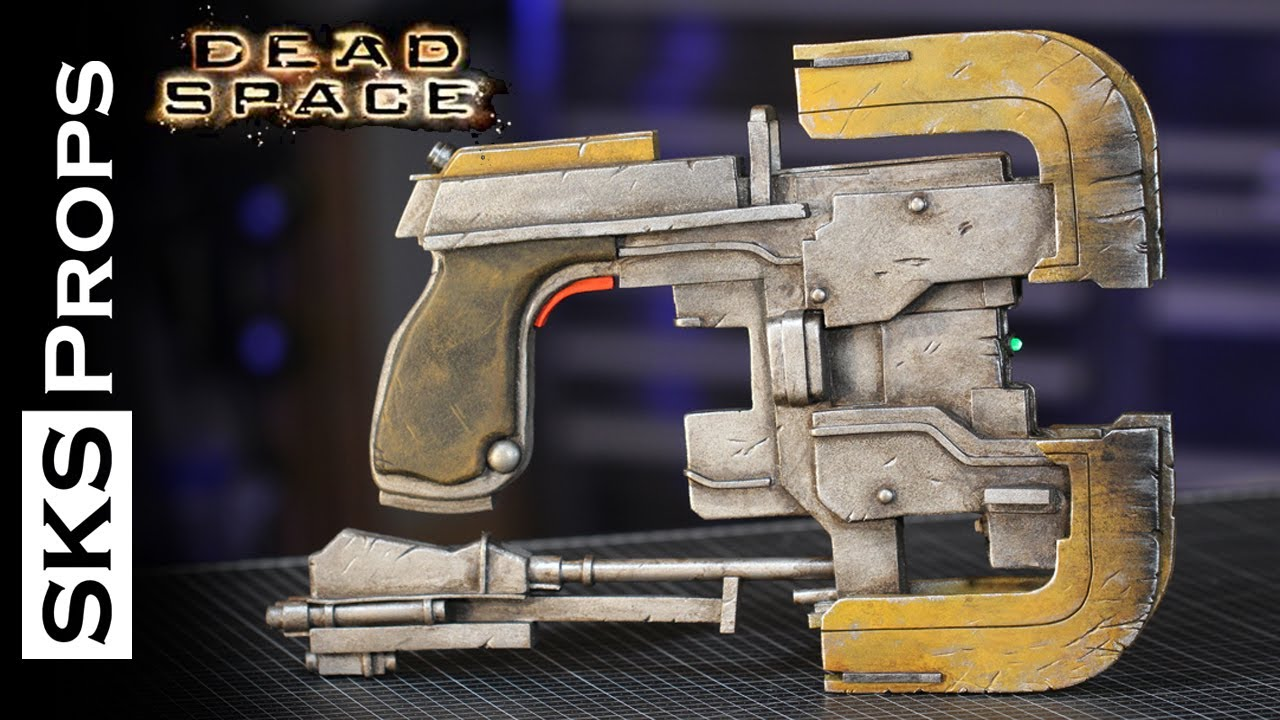 Dead Space Plasma Cutter Cosplay Tutorial Youtube